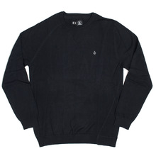 View the Volcom Understated Sweater - Black from the Knitwear clothing range online today from Boarderline