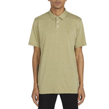 View the Volcom Wowzer Polo - Mossstone from the Shirts clothing range online today from Boarderline