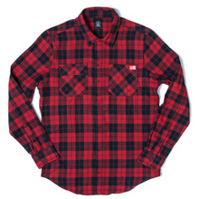 Volcom X Spitfire Shirt - Deep Red