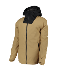 View the Wear Colour Block Jacket - Sand from the Mens Snow Jackets clothing range online today from Boarderline