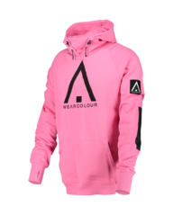 View the Wear Colour Bowl Hood - Post It Pink from the Fleece/Layering clothing range online today from Boarderline