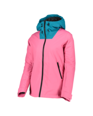 View the Wear Colour Cake Jacket - Post It Pink from the Womens Snow Jackets clothing range online today from Boarderline