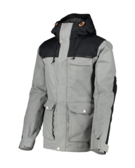 View the Wear Colour Roam Jacket - Grey Melange from the Mens Snow Jackets clothing range online today from Boarderline