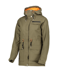 View the Wear Colour State Parka - Mud from the Womens Snow Jackets clothing range online today from Boarderline