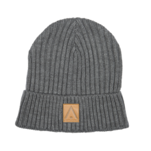 View the Wear Colour Badge Beanie - Grey from the Beanies clothing range online today from Boarderline