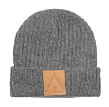 View the WearColour Badge Beanie - Grey Melange from the Beanies clothing range online today from Boarderline