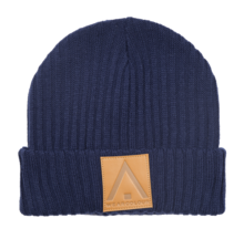 View the WearColour Badge Beanie - Midnight Blue from the Beanies clothing range online today from Boarderline