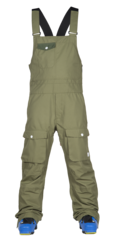 View the WearColour Bib Pant - Loden from the Mens Snowboard Pants clothing range online today from Boarderline