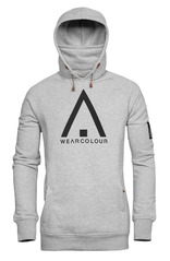 View the WearColour Bowl Hood - Grey Melange from the Fleece/Layering clothing range online today from Boarderline
