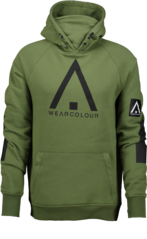 View the Wear Colour Bowl Hood - Olive from the Fleece/Layering clothing range online today from Boarderline
