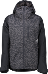 View the Wear Colour Cake Jacket - Black Leopard from the Womens Snowboard Jackets clothing range online today from Boarderline