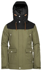 View the WearColour Charge Jacket - Loden from the Mens Snowboard Jackets clothing range online today from Boarderline