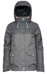 View the WearColour Crop Jacket - Grey Melange from the Womens Snowboard Jackets clothing range online today from Boarderline