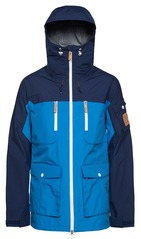 View the WearColour Falk Jacket - Swedish Blue from the Mens Snowboard Jackets clothing range online today from Boarderline