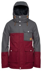 View the WearColour Horizon Jacket - Burgundy from the Mens Snowboard Jackets clothing range online today from Boarderline
