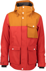 View the Wear Colour Horizon Jacket - Falu Red from the Mens Snowboard Jackets clothing range online today from Boarderline