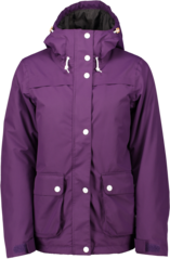 View the Wear Colour Ida Jacket - Grape from the Womens Snowboard Jackets clothing range online today from Boarderline