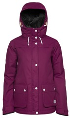 View the WearColour Ida Jacket - Plum from the Womens Snowboard Jackets clothing range online today from Boarderline