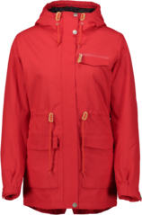 View the Wear Colour State Parka - Red from the Womens Snowboard Jackets clothing range online today from Boarderline