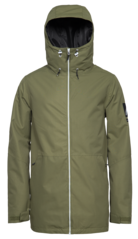 View the WearColour Stride Jacket - Loden from the Mens Snowboard Jackets clothing range online today from Boarderline