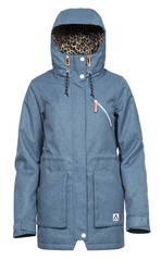 View the Wear colour Wear Parka - Denim Blue from the Womens Snowboard Jackets clothing range online today from Boarderline