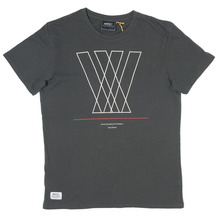 View the WESC Abstarkt T-Shirt - Shadow from the T-Shirts clothing range online today from Boarderline