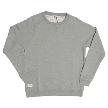 View the WeSC Bane Crew Sweat - Grey Melange from the Hoods and Crews clothing range online today from Boarderline