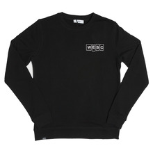View the WeSC Beecher Crew Sweat - Black from the Hoods and Crews clothing range online today from Boarderline