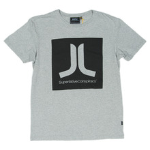 WESC Boxicon T-Shirt - Heather Grey