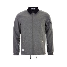 View the WESC Coach Deluxe Jacket - Black/Grey Melange from the Jackets clothing range online today from Boarderline