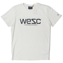 WESC Logo T-Shirt - Winter White