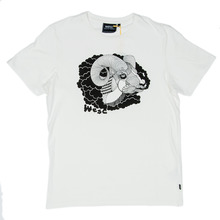 WESC Smoking Goat T-Shirt - White