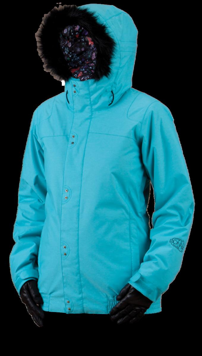 Bonfire Ashland Jacket - Aquamarine